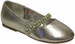 GIRLS BALLERINAS (2242445) SILVER METALLIC